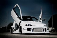 Le auto del Klan!